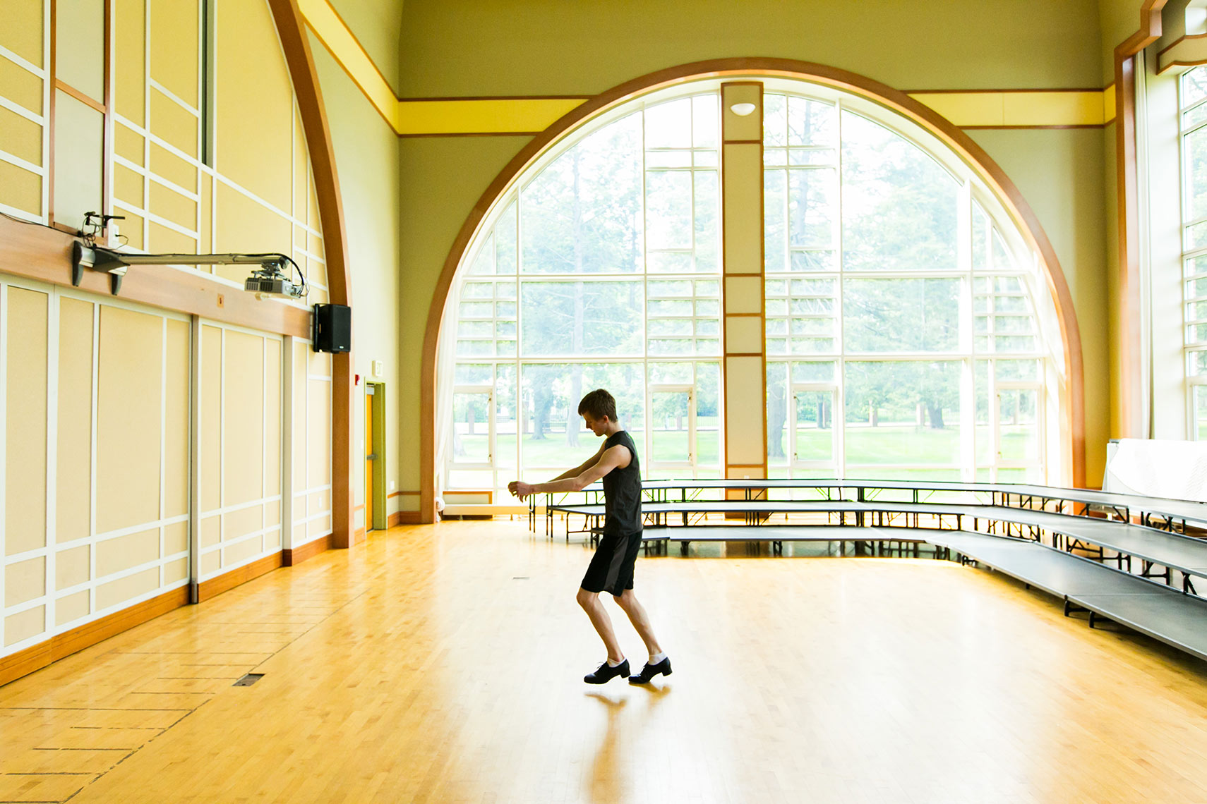 Lawrenceville School boy dance studio Michael Branscom Photography.