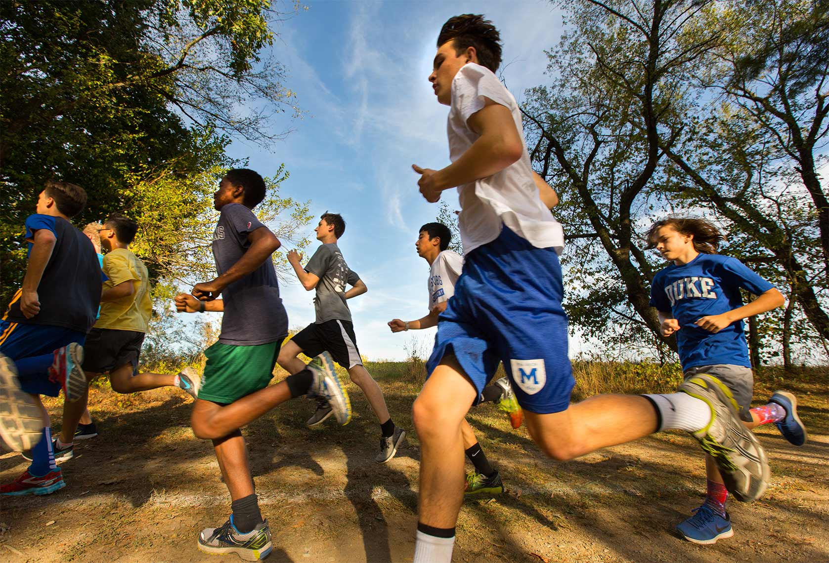 Mercersburg Academy cross country Michael Branscom Photography.