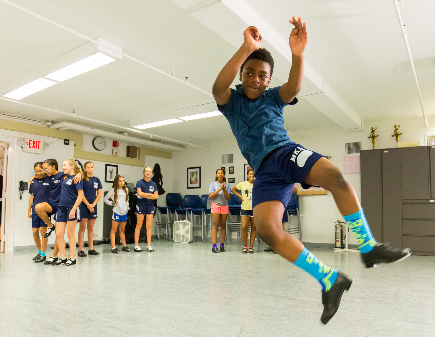 Montclair Kimberly Academy dance class boy Michael Branscom Photography.
